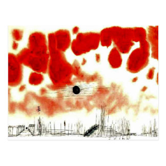 Klee - nubes sobre Bor Postales