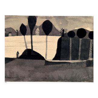 Klee - parque por el lago postales