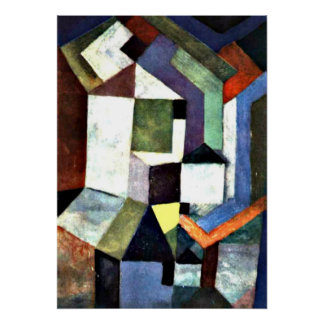 Klee: Pious Northern Landscape Posters