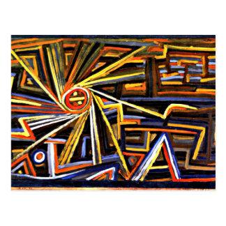 Klee - radiación y rotación postales