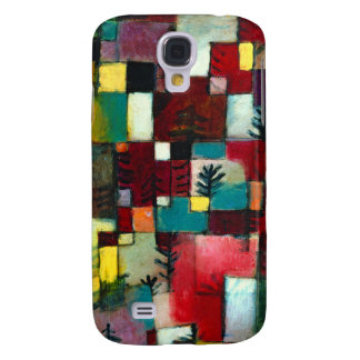 Klee - Redgreen and Violet Yellow Rhythms Samsung Galaxy S4 Cover