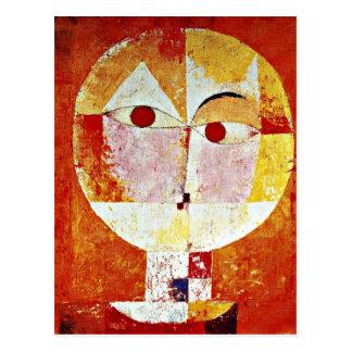 Klee: Senecio Postcard