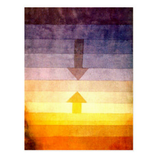 Klee - Separation in the Evening Postcard
