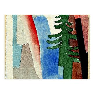 Klee: The Fir Postcard