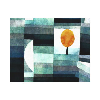 Klee - The Messenger of Autumn Canvas Print