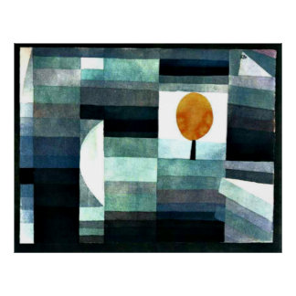 Klee - The Messenger of Autumn Poster