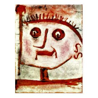 Klee - una alegoría de Propaganda, 1939 Tarjeta Postal