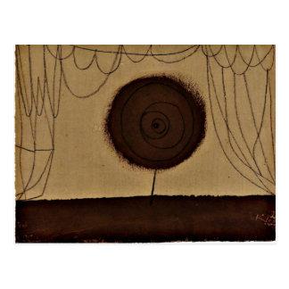 Klee - una flor se realiza postales