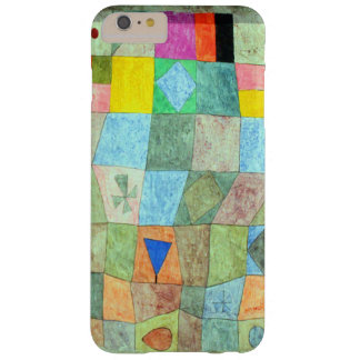 """Klee Vibrant Abstract """"Friendly Games"""" Boho-Chic Barely There iPhone 6 Plus Case"""