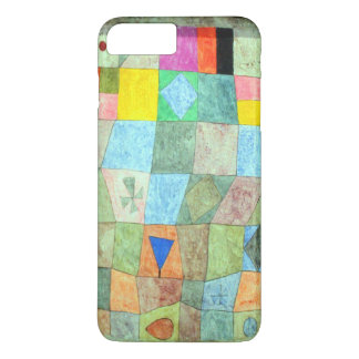 """Klee Vibrant Abstract """"Friendly Games"""" Boho-Chic iPhone 8 Plus/7 Plus Case"""