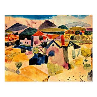 Klee - View of Saint Germain Postcard