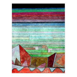 Klee - visión en el país fértil postal