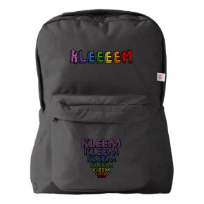 Kleem American Apparel™ Backpack