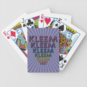 Kleem Bicycle Playing Cards