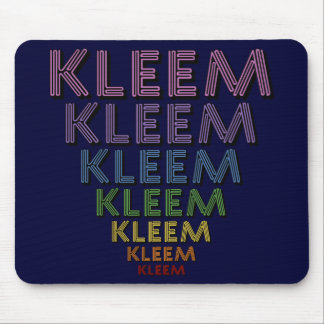 Kleem Chakra Colors Mouse Pad