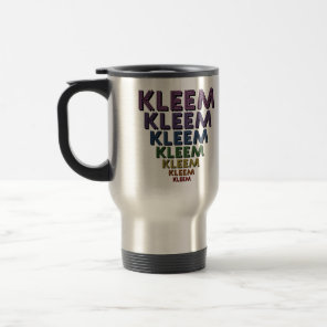 Kleem Chakra Colors Travel Mug
