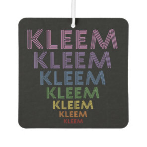 Kleem luck love mantra car air freshener
