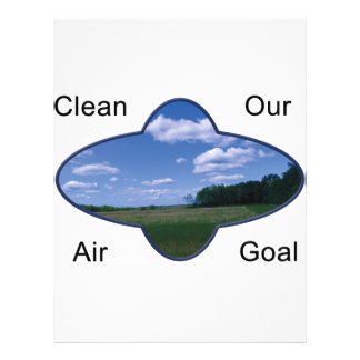 Kleen Air Is Our Goal Flyer