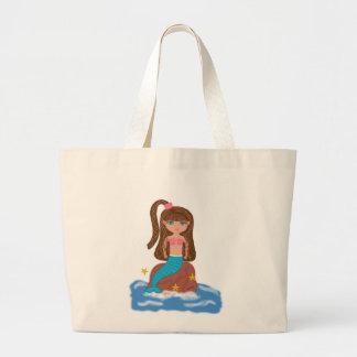 KLeigh el bolso de la playa de la sirena Bolsa De Mano