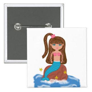 KLeigh the Mermaid Button