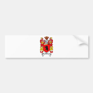 KLEIN FAMILY CREST -  KLEIN COAT OF ARMS BUMPER STICKER