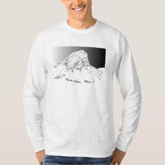 Klein Hang-Klip Mountain, Rooiels. Storm Sky. T-Shirt