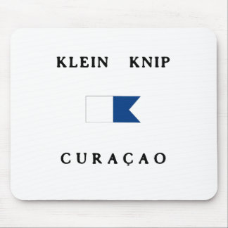 Klein Knip Curacao Alpha Dive Flag Mouse Pad