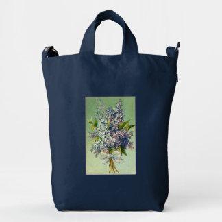 Klein Pretty Bunch of Purple Lilacs Duck Bag
