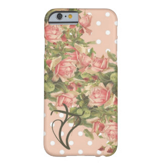 Klein Roses Christian iPhone 6 case-Pink Dots Barely There iPhone 6 Case