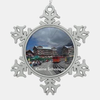 Kleine Schedegg 1 ornamento del estaño Adorno