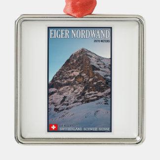 Kleine Scheidegg - la pared del norte del Eiger Adorno De Navidad