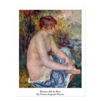 Kleiner Akt en azul de Pierre-Auguste Renoir Postales