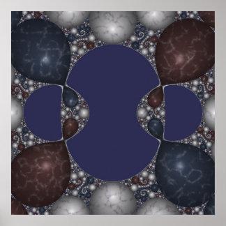 Kleinian Marble Inlay III Poster