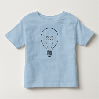 Infant shirt with bulb baby-blue