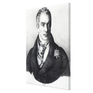 Klemens Wenzel Nepomuk Lothar Canvas Print