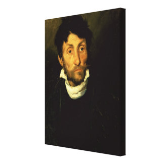 Kleptomania: Portrait of a Kleptomaniac Canvas Print