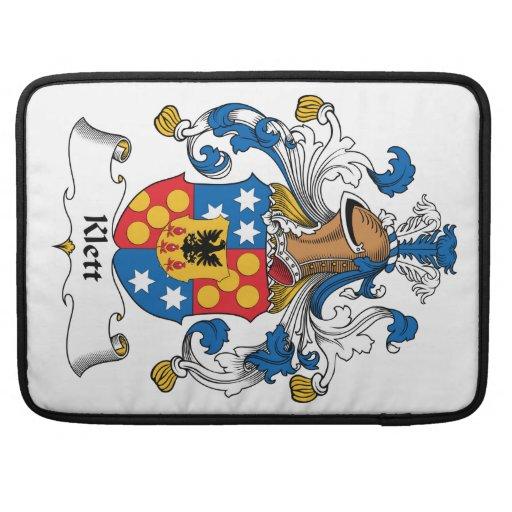Klett Family Crest Sleeve For MacBooks
