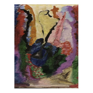 Kleurstudie by Jacoba van Heemskerck Postcard