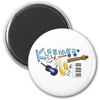 Klezmer 2 Inch Round Magnet