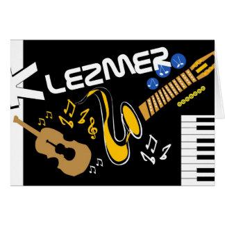 Klezmer Card