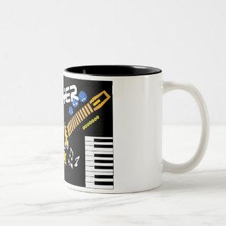 Klezmer Two-Tone Coffee Mug