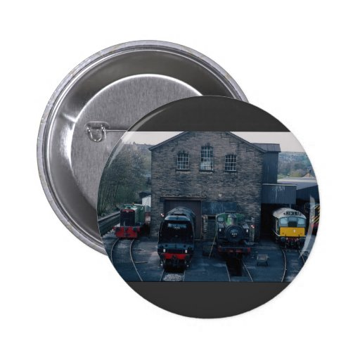 Klieghley and Worth Valley Preserved Railway, Hawo Pinback Buttons