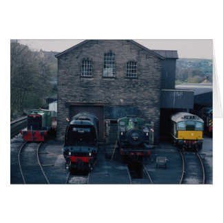 Klieghley and Worth Valley Preserved Railway, Hawo Greeting Card