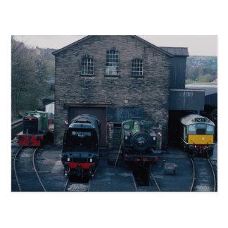 Klieghley and Worth Valley Preserved Railway, Hawo Postcard