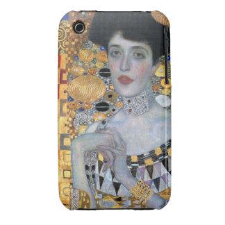 Klimt Adela Bauer Case-Mate iPhone 3 Protectores
