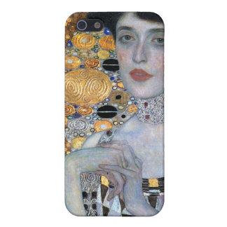 Klimt Adela Bauer iPhone 5 Fundas