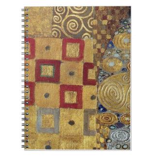 Klimt Art Nouveau Notebook