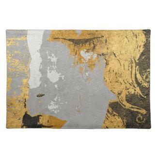 """Klimt art Stylization Placemats  20"""" x 14"""""""