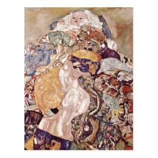 ¿Klimt bebé del bebé de Gustavo cuna Espa ol Postales