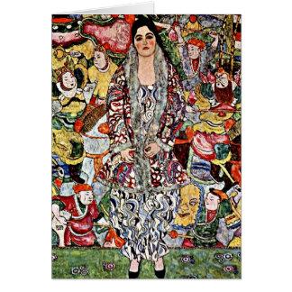 Klimt - cerveza de Fredericke Maria - arte de Tarjeta De Felicitación